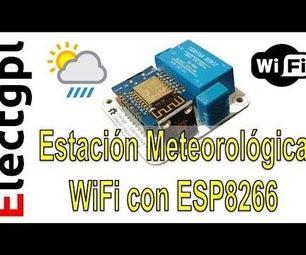 Weather Station - ESP8266 - BMP - DHT