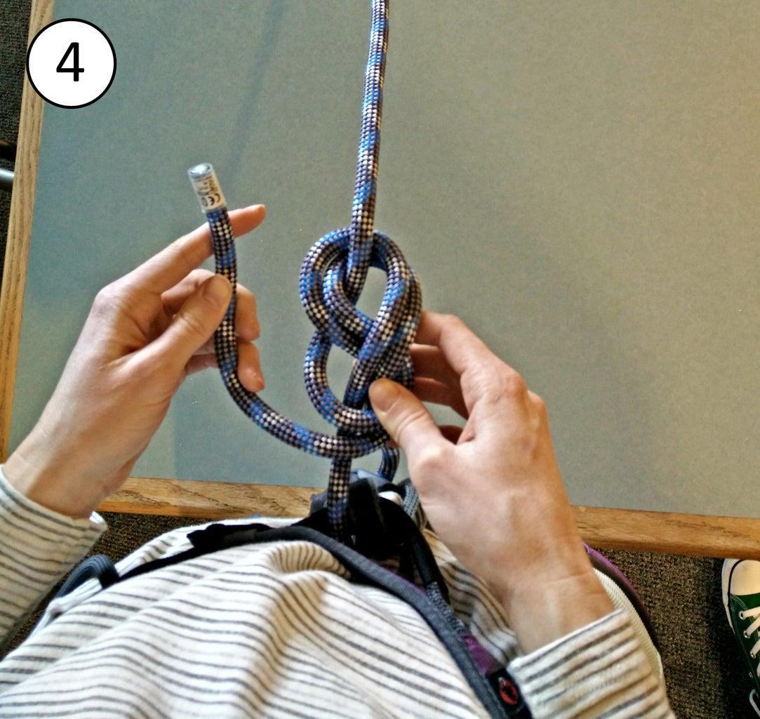 Attaching the Rope to the Harness