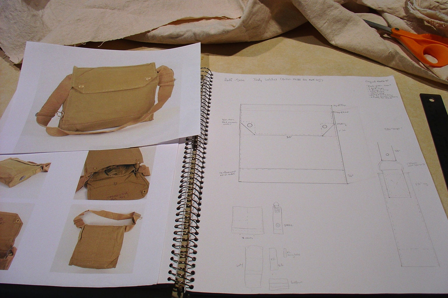 Indiana Jones MKVII Bag - Half Size!