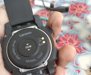 How to Change Strap of Lenovo Ego Hx07 Smartwatch
