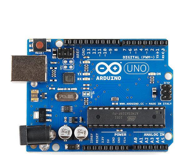 Arduino Uno R3 Battery Tester
