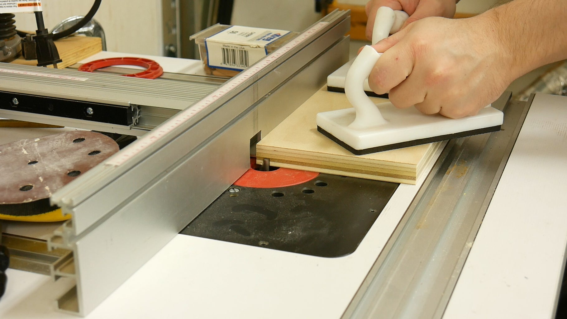 Cutting Drawer Sides to Size & Route Groove for Bottom Panel