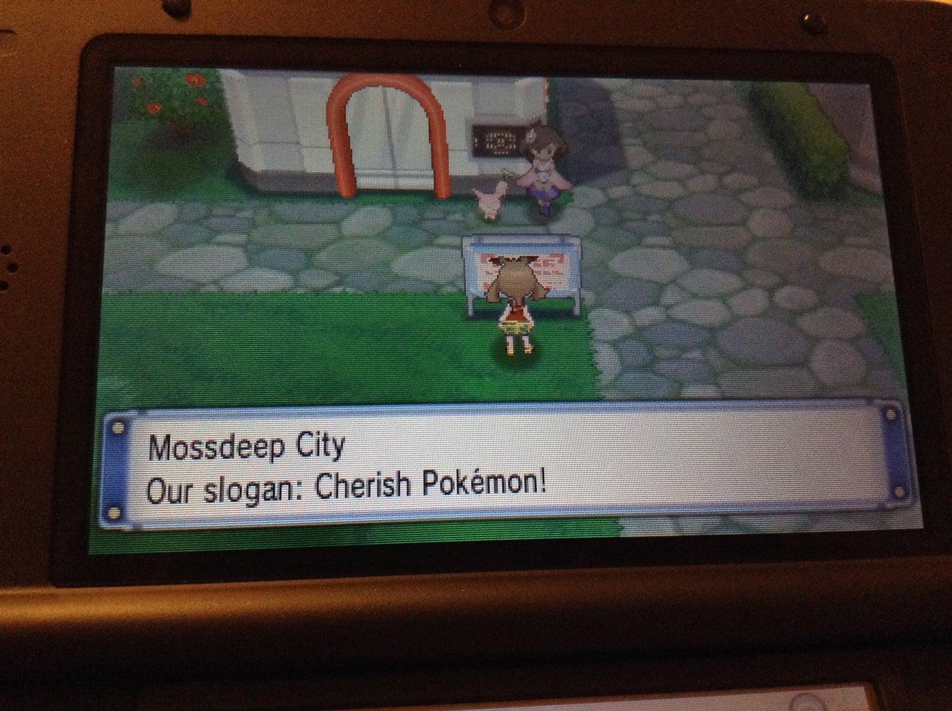 Secret Base in Mossdeep City
