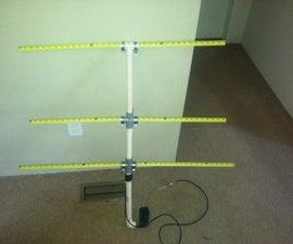 The Tape Measure Antenna