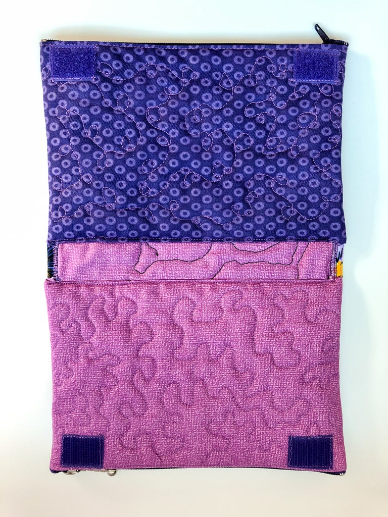 Sew Sides of Pouch to Pockets