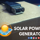 SOLAR POWER GENERATOR | Energy From Sun to Run Daily Home Appliances