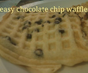 How to Make Some Delicious Chocolate Chip Waffles