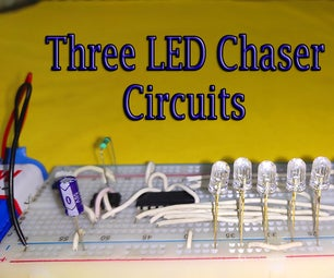 Three Ways to Make LED Chaser Circuit With Speed Control + Back and Forth Effect