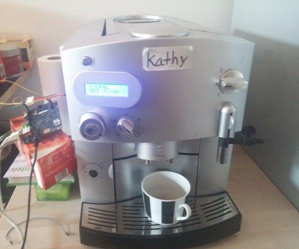 Smart Tweeting Coffee Maker