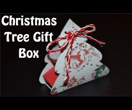 DIY Simple Origami Christmas Gift Box