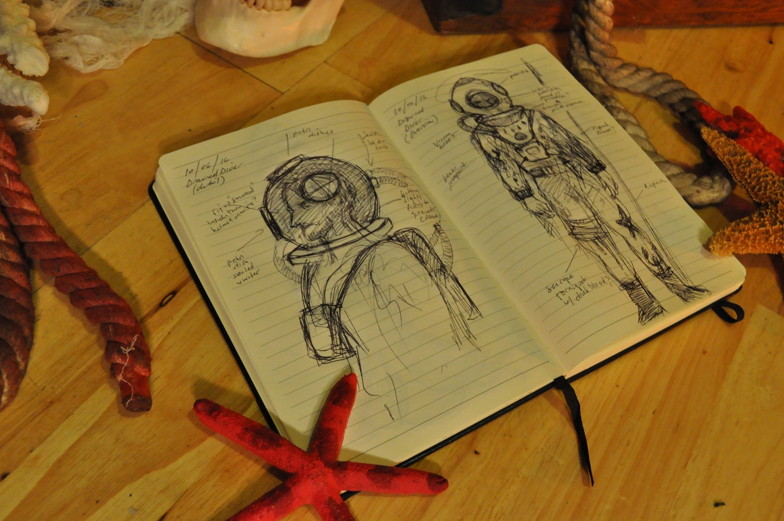 Concepting & Sketches
