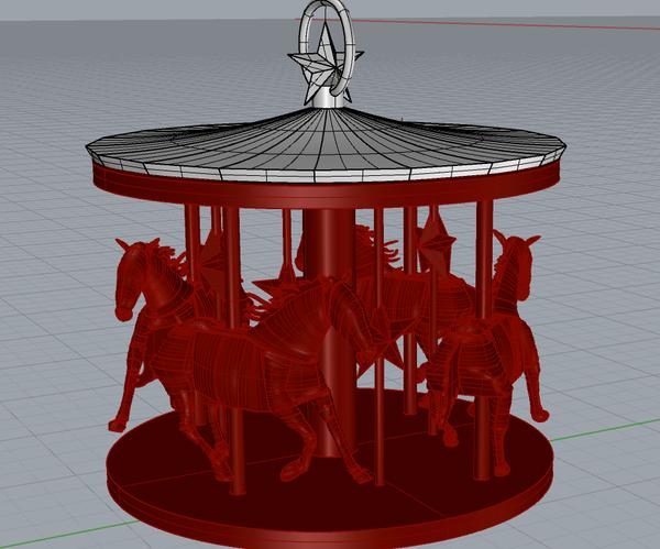 3D Printed Carousel