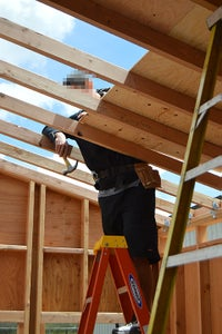 Building the Roof Frame