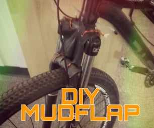 Build a Mud Flap for Your Bike
