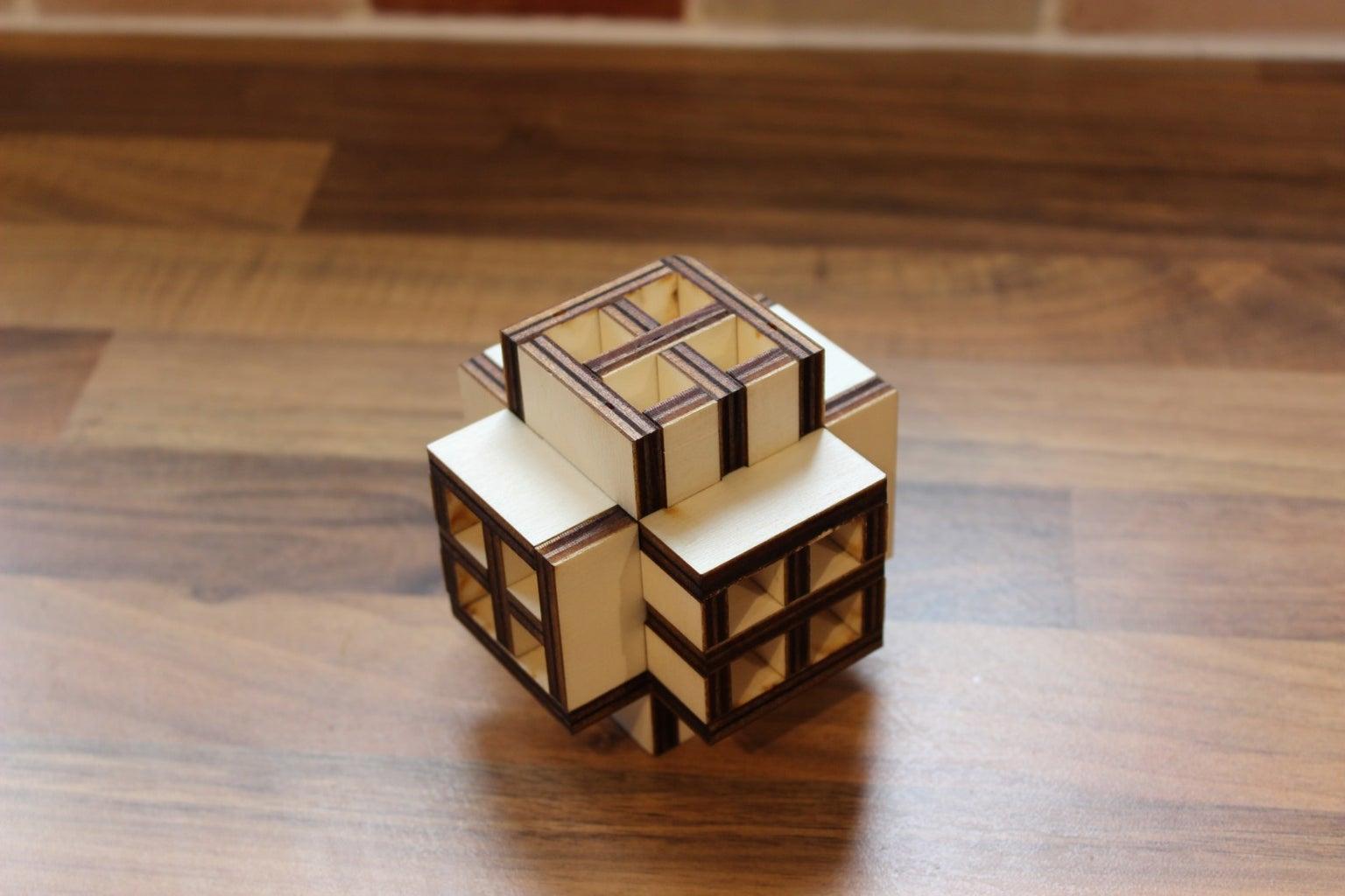 Burr Box Puzzles