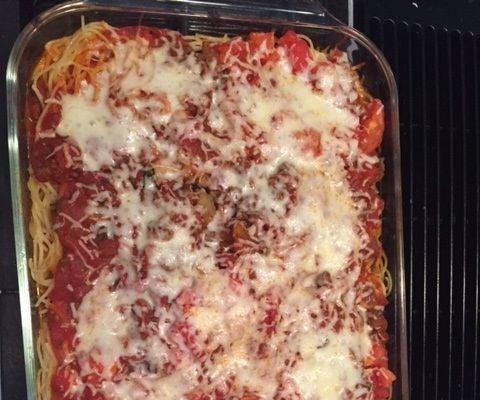 Spaghetti Bake Dish