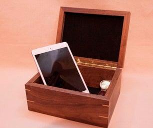 Walnut Keepsake Box |
