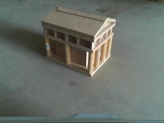 Birdhouse Parthenon