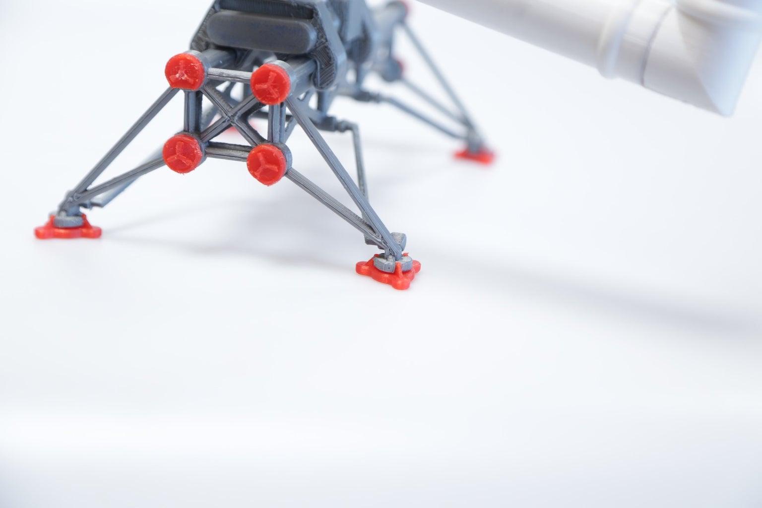 3d Printed Canadarm Model