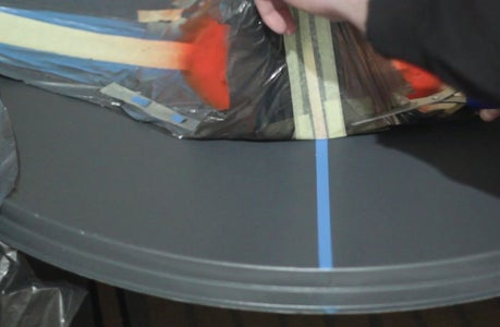 Remove the Protective Tape From the Film.