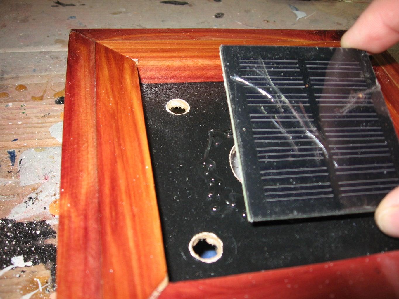 Installing the Solar Panel