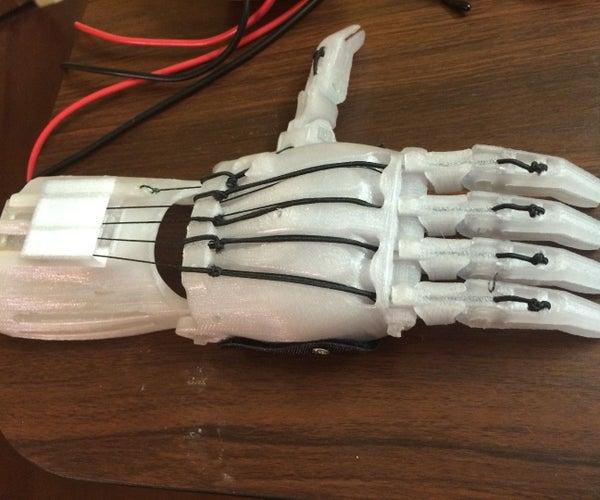 E-NABLE Hand Spidey Sensors