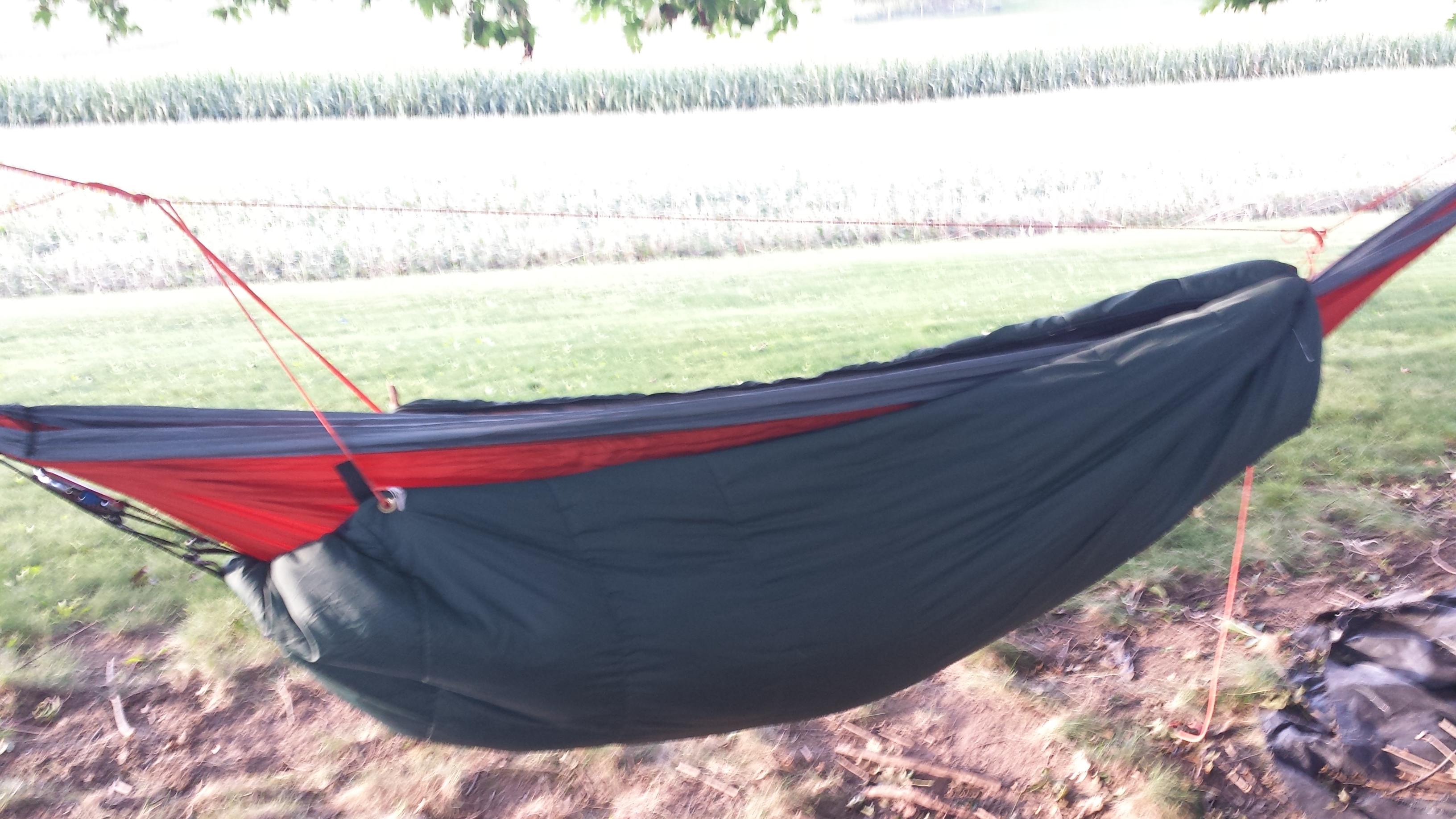 DIY Hammock Underquilt/Sleeping Bag
