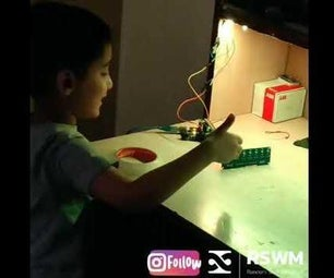 Gesture Controlled Interactive Desk Light