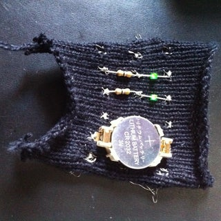 Knit a Working Circuit Board