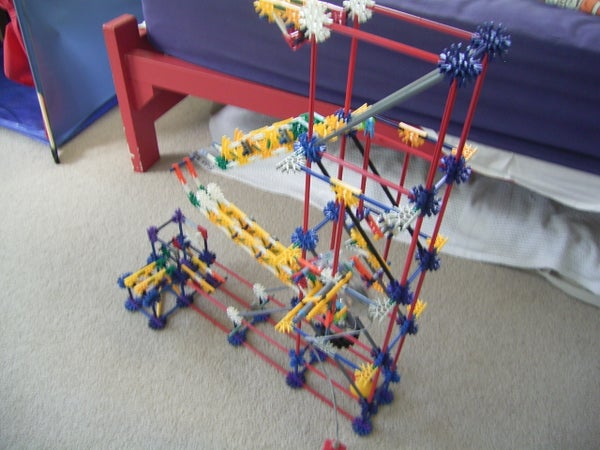 Knex Multiple Arm Ball Machine Lift