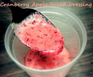 Cranberry Apple Salad Dressing