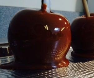 简单的焦糖苹果