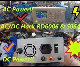 "DIY AC/DC Hack "" Mod "" RD6006 Power Supply & S06A Case W/ S-400-60 PSU Build & Upgraded DC Input"
