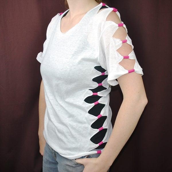 Faux Bow T-Shirt Mod