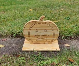 CNC Cut Pumpkin
