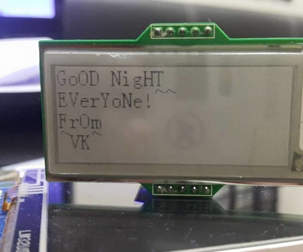 How to - E-INK E-PAPER DISPLAY MODULE – Part 3 | WiFi