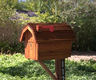 Redwood Mailbox