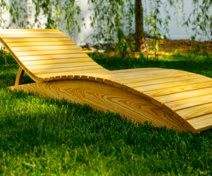 DIY Outdoor Chaise Lounge (Longue)