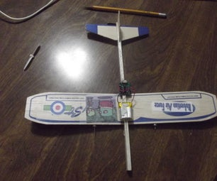 RC Plane Made From a Broken RC Helicopter