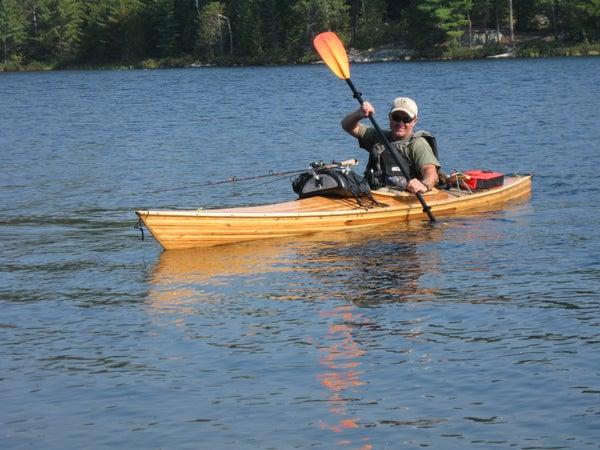 Solo Kayak Camping