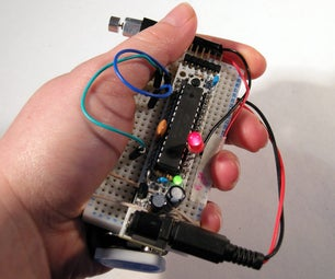 RepWrap - Device to Keep Track of Duration and Repetitions for Physiotherapy Exercises (breadboarded Prototype)