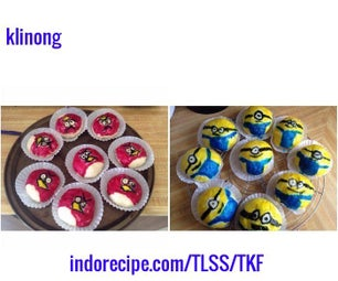 Minions/Angry Birds Steamed Buns