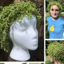 Living, Growing Plant Wig!