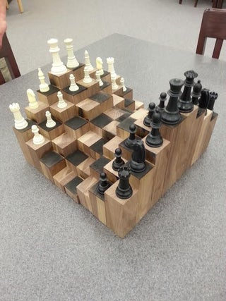 3d Chess Board 5 Steps With Pictures Instructables