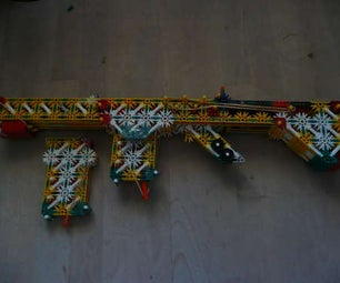 Knex Pump Action Gun With Removable Mags!!!