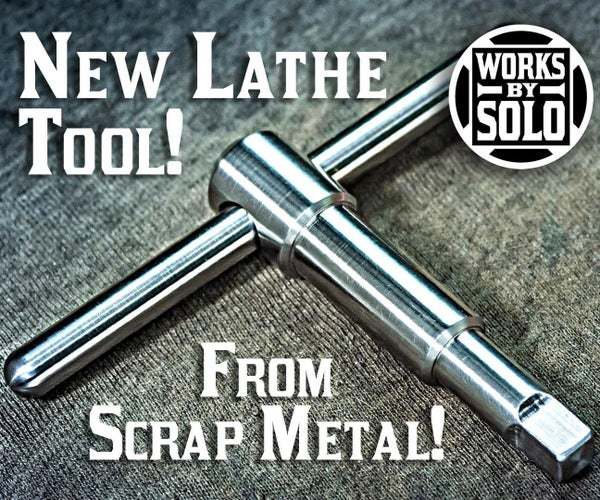 HOW TO MAKE a LATHE TOOL FROM SCRAP METAL