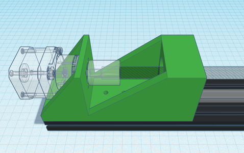 Design Process - Stepper Motor Mount - Done!
