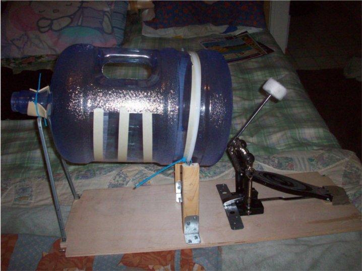 Super cheap Bass drum kick drum DIY