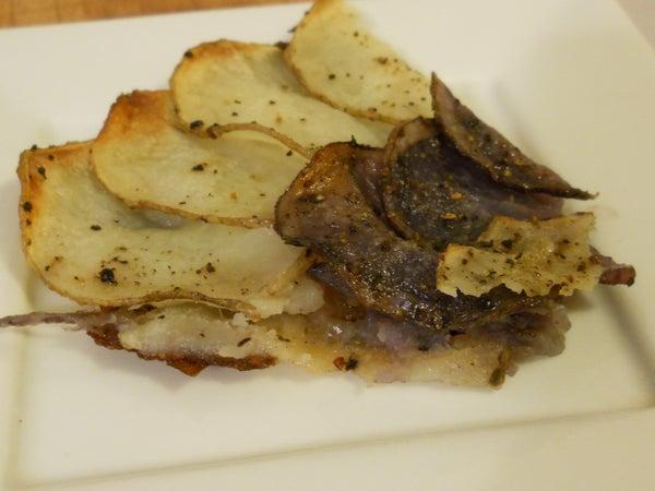 Purple Potato Galette