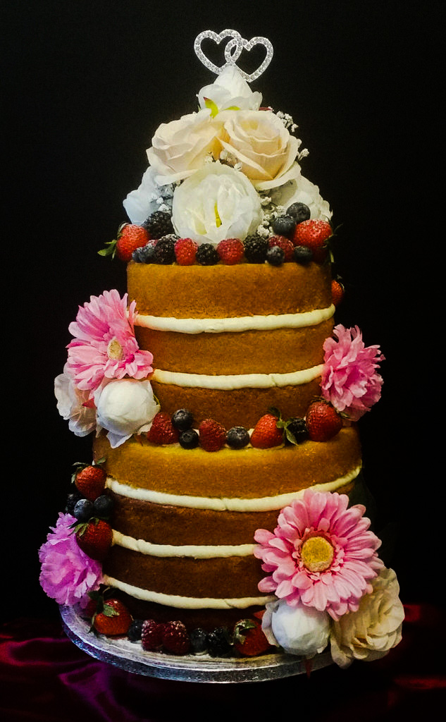 Naked Celebration Cake
